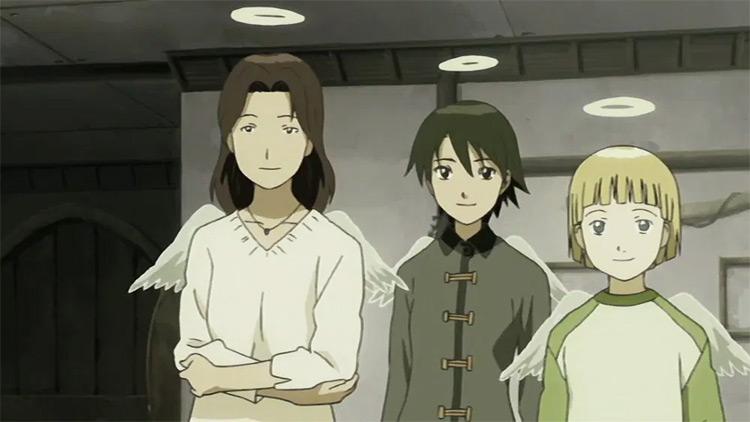 Yoshitoshi ABe Works - Haibane Renmei anime