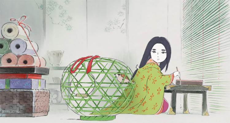 The Tale of Princess Kaguya anime