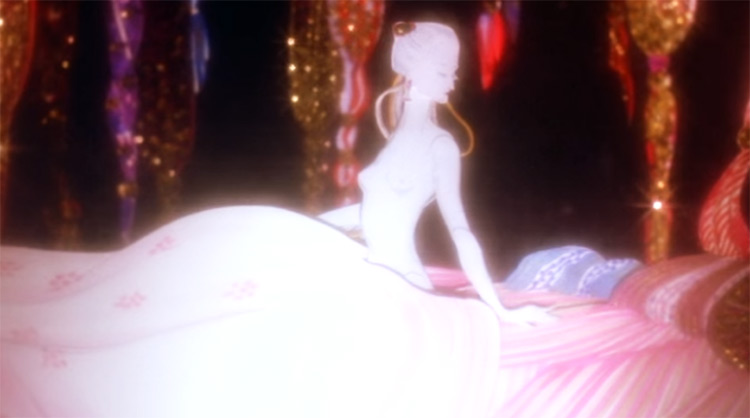1001 Nights anime with unique art style