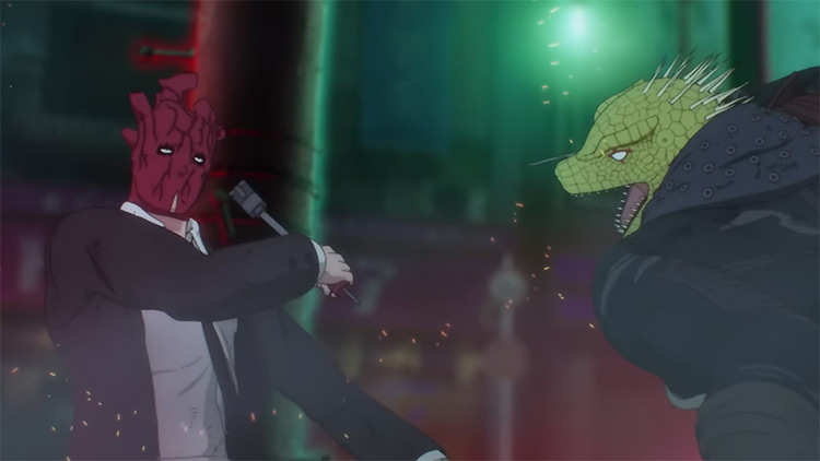 Dorohedoro anime screenshot