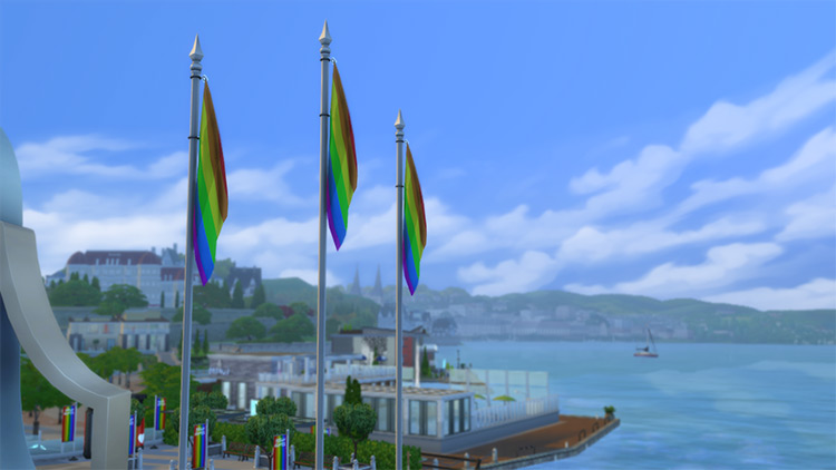 Pride Month Mod Pack Sims 4 CC