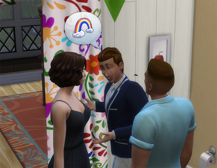 Coming Out Mod for Sims 4