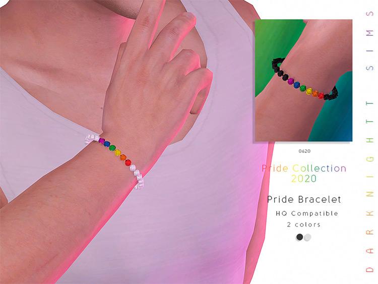 Pride Bracelets Sims 4 CC