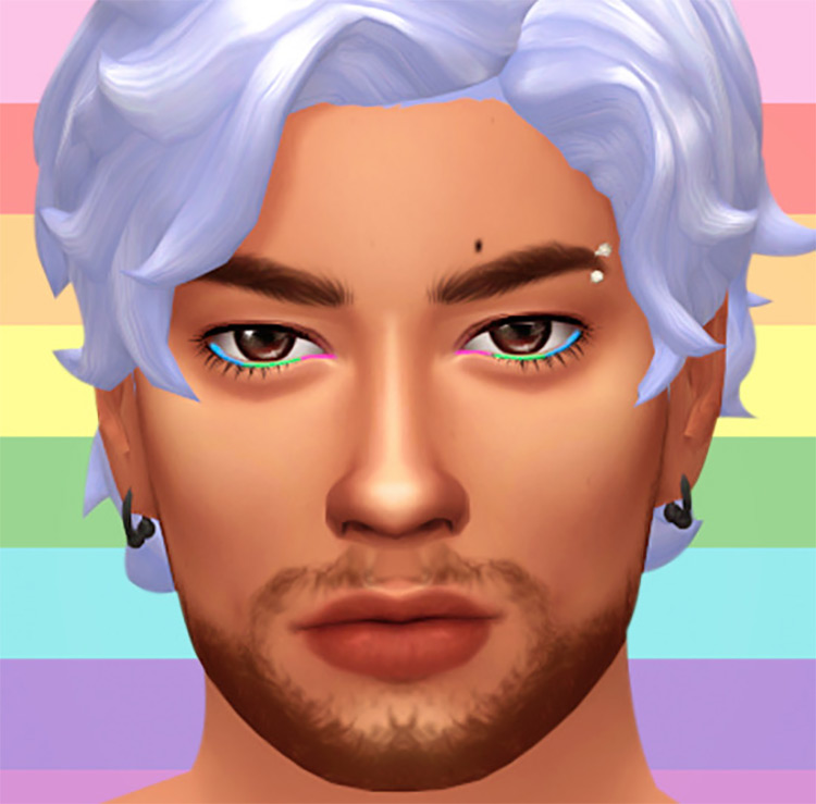 Harmony Eye Liner Sims 4 CC screenshot