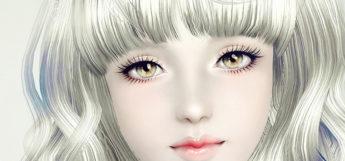 Custom TS3 eyelash mod N02 set