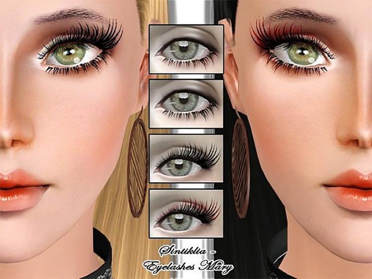 FM Eyelashes Sims 3 CC screenshot
