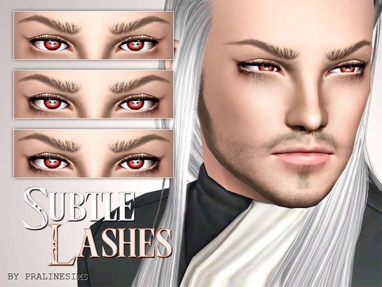 Subtle Lashes Sims 3 CC