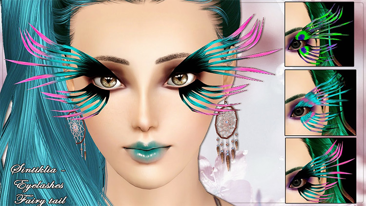 Eyelashes Fairytale Sims 3 CC