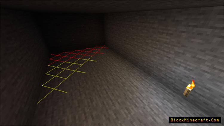 Light Overlay Mod in Minecraft