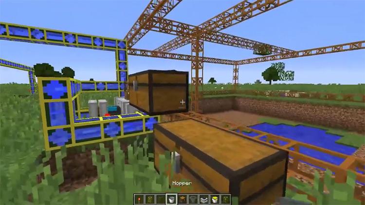 BuildCraft Mod in Minecraft