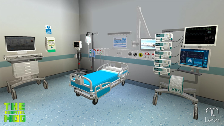 Hospital Mod for Minecraft