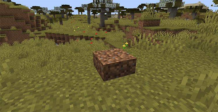 Dirt Slabs Mod screenshot