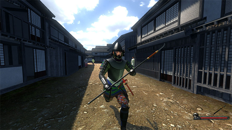 Gekokujo Mount & Blade Warband Mod screenshot