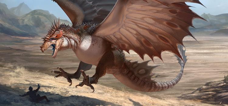 Flying bird creature - D&D Familiar concept art