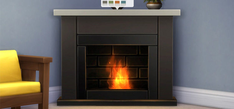 Best Sims 4 Custom Fireplace CC To Download (All Free)