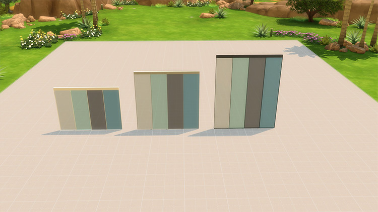 Ultra Glass Fence CC for Sims 4