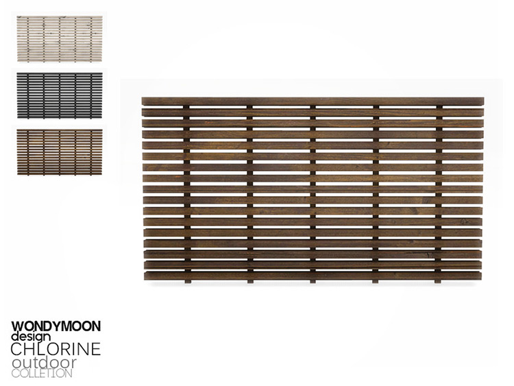 Chlorine Outdoor Fence CC (Tall Version)