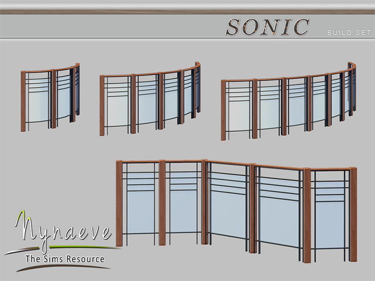 Sonic Build Set for The Sims 4