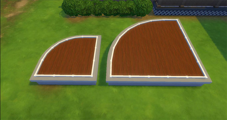 Fence Marker Tools CC for Sims 4