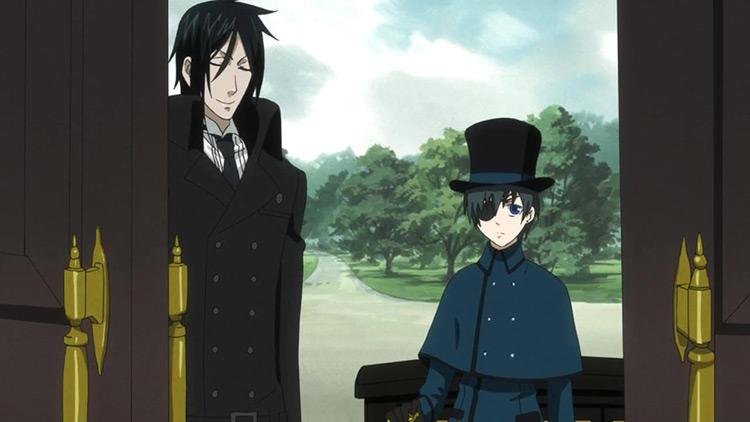 Ciel Phantomhive Black Butler anime screenshot