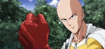 Saitama fist screenshot from OPM
