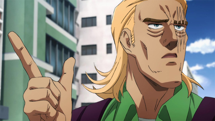 King One Punch Man anime