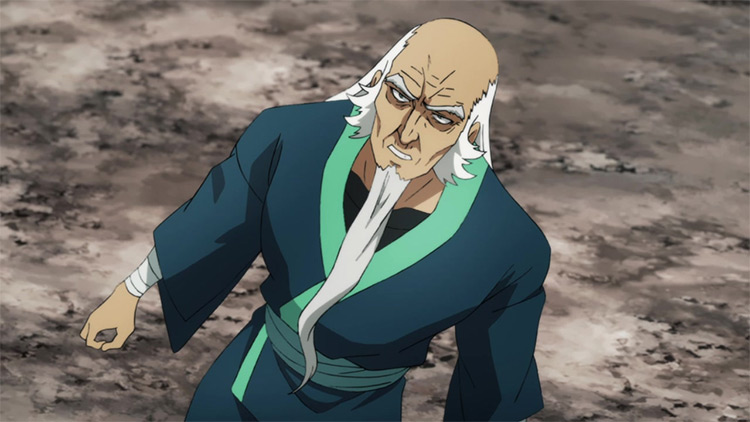 Bomb from One Punch Man
