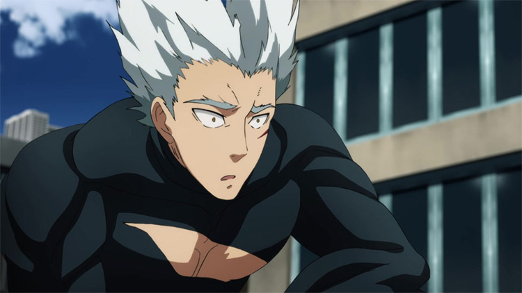 Garou One Punch Man anime screenshot