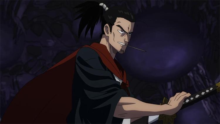 Atomic Samurai One Punch Man anime