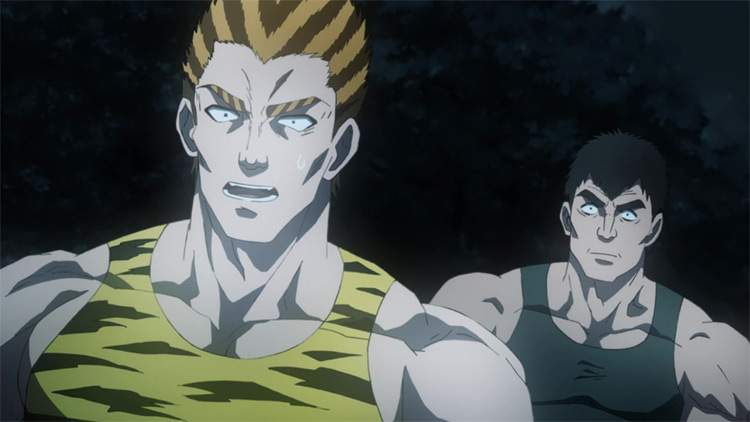 Tank Top Black Hole and Tank Tank Top Tiger from One Punch Man