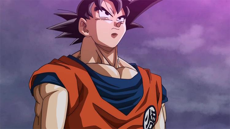 Son Gokuu Dragon Ball Super anime screenshot