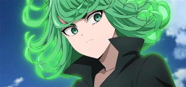 Tatsumaki from One Punch Man anime