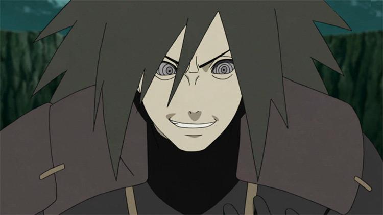 Madara Uchiha in Naruto Shippuden anime