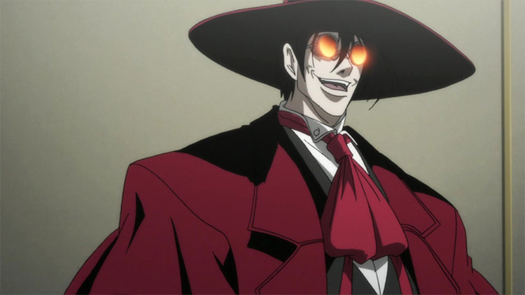 Alucard Hellsing Ultimate anime screenshot