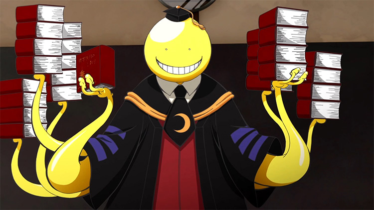 Koro-Sensei Assassination Classroom anime screenshot