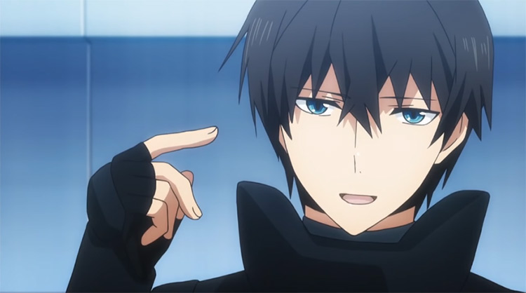 Tatsuya Shiba from The Irregular at Magic High School anime