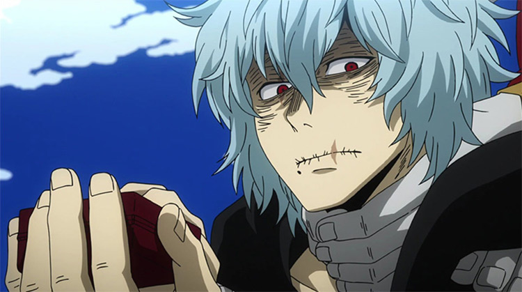 Tomura Shigaraki from Boku no Hero Academia anime