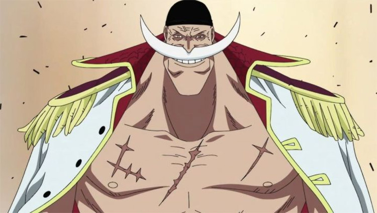 Edward Newgate in One Piece anime