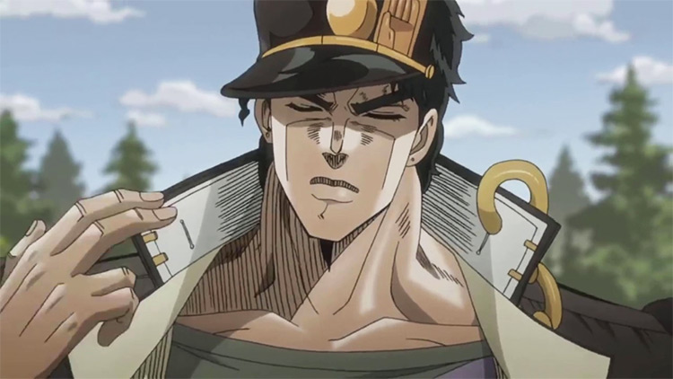 Jotaro Kujo from Jojo's Bizarre Adventure: Stardust Crusaders