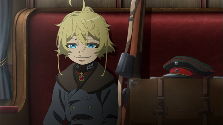 Tanya Degurechaff from Youjo Senki
