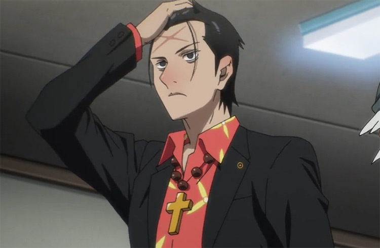 Mu-Jin Park from The God of High School anime