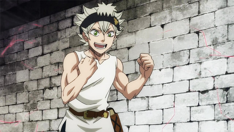 Asta Black Clover anime screenshot
