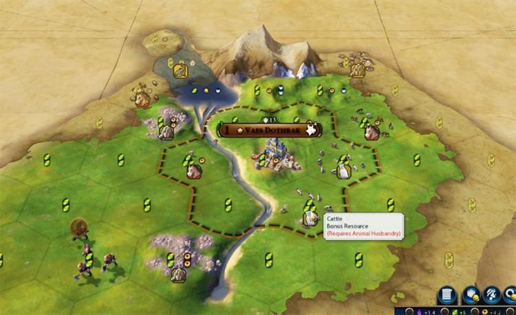 Cattle Civilization 6 Resource