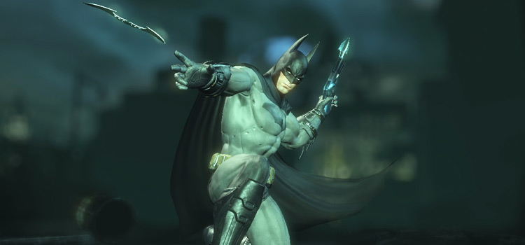 Custom Batman outfit modded for Arkham City