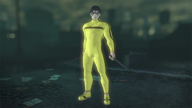 Bruce Lee For Nightwing Batman: Arkham City Mod