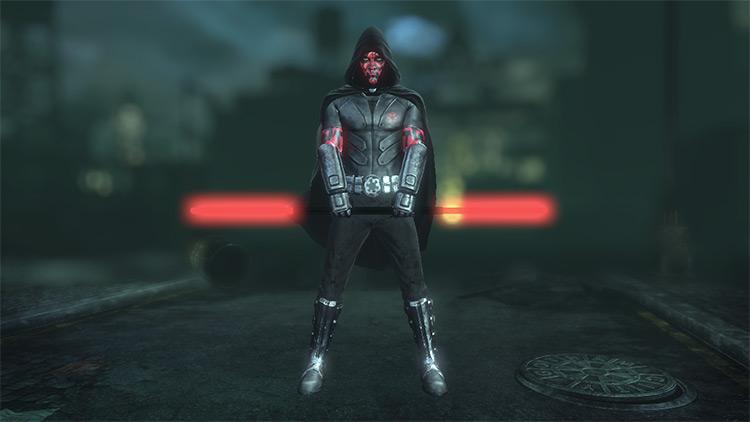 Darth Maul Robin Batman: Arkham City Mod