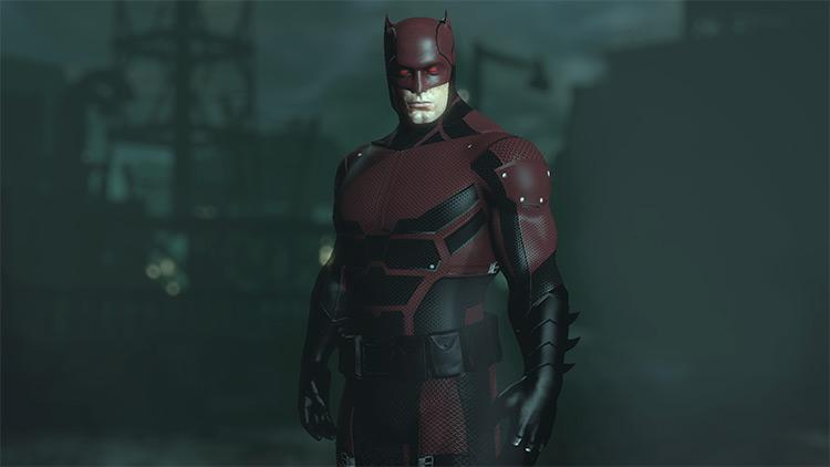 Netflix's Daredevil - Batman Year One Batman: Arkham City Mod