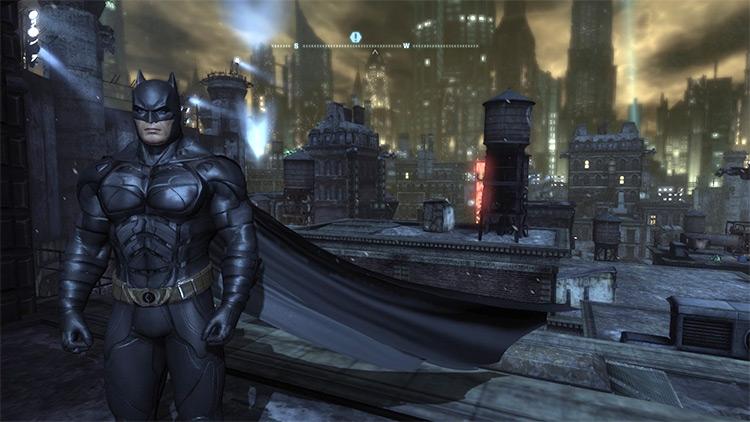 The Dark Knight Movie Costume Batman: Arkham City Mod