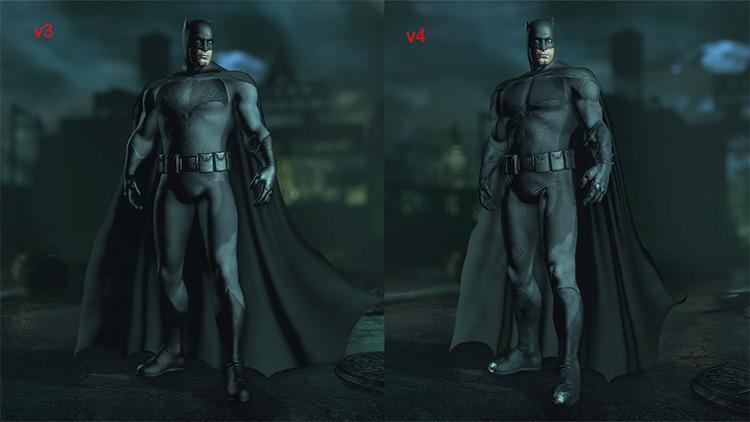 Ben Affleck Batman Suit Mod for Batman: Arkham City