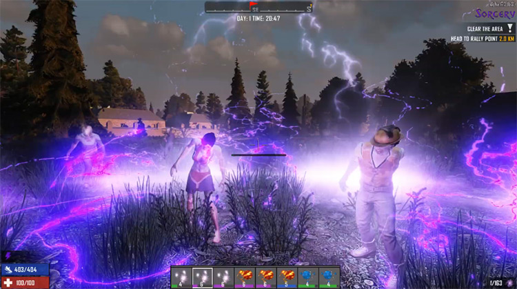 Sorcery 7 Days to Die Mod screenshot